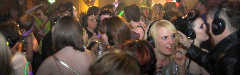 Headphone disco equipment hire